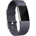 FITBIT Charge 2 Leather Accessory Band – Indigo, Large, Indigo