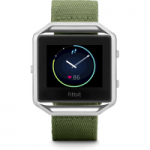 FITBIT Blaze Accessory Band – Olive, Large, Olive