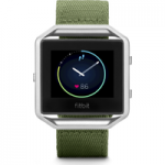 FITBIT Blaze Accessory Band – Olive, Small, Olive