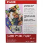 CANON A4 Matte Photo Paper – 50 Sheets