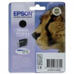 EPSON Cheetah T0711 Black Ink Cartridge, Black