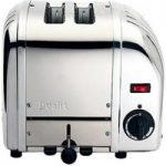 DUALIT Vario 20245 2-Slice Toaster – Stainless Steel, Stainless Steel