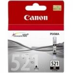 CANON CLI-521 Black Ink Cartridge, Black