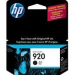HP 920 Black Ink Cartridge, Black