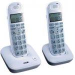 LOGIK L20DBIG10 Cordless Phone – Twin Handsets