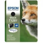 EPSON Fox T1281 Black Ink Cartridge, Black