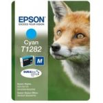 EPSON Fox T1282 Cyan Ink Cartridge, Cyan