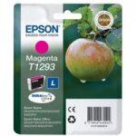 EPSON Apple T1293 Magenta Ink Cartridge, Magenta