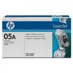 HP 05A Black Toner Cartridge, Black