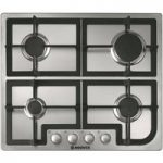 HOOVER HGH64SCX Gas Hob – Stainless Steel, Stainless Steel