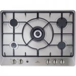 NEW WLD NWGHU701 Gas Hob – Stainless Steel, Stainless Steel