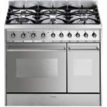SMEG C92DX8 Dual Fuel Range Cooker – Stainless Steel, Stainless Steel