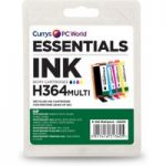 ESSENTIALS HP364 Cyan, Magenta, Yellow & Black HP Ink Cartridges – Multipack, Cyan
