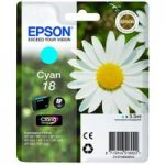 EPSON Daisy T1802 Cyan Ink Cartridge, Cyan