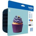 BROTHER LC123 Cyan, Magenta, Yellow & Black Ink Cartridges – Multipack, Cyan
