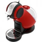 KRUPS Dolce Gusto Melody 3 Hot Drinks Machine – Red, Red