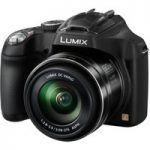 PANASONIC Lumix DMC-FZ72EB-K Bridge Camera, Black