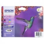 EPSON Hummingbird T0807 6-colour Ink Cartridges – Multipack