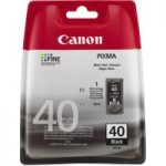 CANON PG-40 Black Ink Cartridge, Black