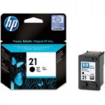HP 21 Black Ink Cartridge, Black