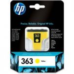 HP 363 Yellow Ink Cartridge, Yellow