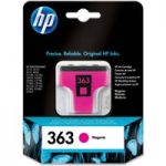 HP 363 Magenta Ink Cartridge, Magenta