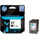 HP 27 Black Ink Cartridge, Black