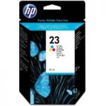 HP 23 Tri-colour Ink Cartridge