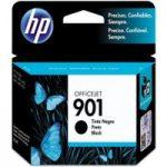 HP 901 Black Ink Cartridge, Black