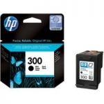 HP 300 Black Ink Cartridge, Black
