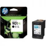 HP 901XL Black Ink Cartridge, Black
