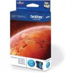 BROTHER LC1100HY-C Cyan Ink Cartridge, Cyan