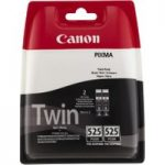 CANON PGI-525 Black Ink Cartridge – Twin Pack, Black