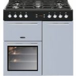 LEISURE AL90F230B Dual Fuel Range Cooker – Blue, Blue