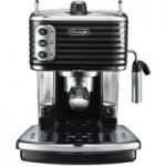 DELONGHI Scultura ECZ351BK Coffee Machine – Black, Black