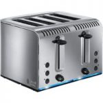 RUSSELL HOBBS Buckingham 4-Slice Toaster – Stainless Steel, Stainless Steel
