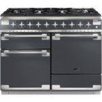 RANGEMASTER Elise 110 Dual Fuel Range Cooker – Slate & Aluminium