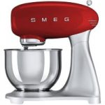 SMEG SMF01RDUK 50's Retro Stand Mixer – Red, Red