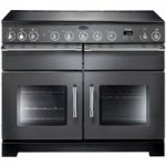 RANGEMASTER Excel 110 Electric Induction Range Cooker – Slate & Chrome