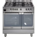 HOOVER HGD9395IX Dual Fuel Range Cooker – Stainless Steel, Stainless Steel