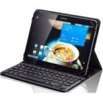 SANDSTROM S10UKBF14 Keyboard Folio Tablet Case – Black, Black