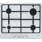 CANDY CPG64SPB Gas Hob – White, White