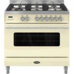 BRITANNIA Delphi 90 RC9SGDERCR Dual Fuel Range Cooker – Cream, Cream