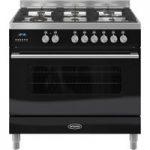 BRITANNIA Delphi 90 RC9SGDEK Dual Fuel Range Cooker – Black, Black