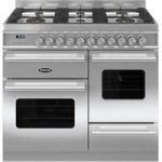 BRITANNIA Delphi 100 RC10XGGDES Dual Fuel Range Cooker – Stainless Steel, Stainless Steel