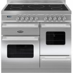 BRITANNIA Delphi 100 XG Electric Induction Range Cooker – Stainless Steel, Stainless Steel