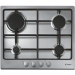 CANDY CPG64SPX Gas Hob – Stainless steel, Stainless Steel