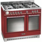 BAUMATIC BCD925BDY Dual Fuel Range Cooker – Burgundy