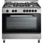 BAUMATIC BC391.3TCSS Dual Fuel Range Cooker – Stainless Steel, Stainless Steel