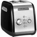 KITCHENAID 5KMT221BOB 2-Slice Toaster – Black, Black